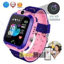 Child Smart Watch Touch Call GPS LBS Tracker Phone Wrist Watch Smartwatch New