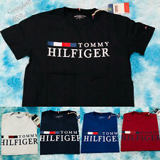 Tommy Hilfiger Crew Neck T-shirt/Shorts/top (100% Organic Cotton)