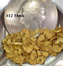 GOLD NUGGETS 5+ GRAMS Placer Alaska Natural #12 Mesh Deadwood Creek Jewelers