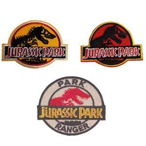 Jurassic Park Jurassic World Iron On Patch Sew On transfer badge Jurassic World2