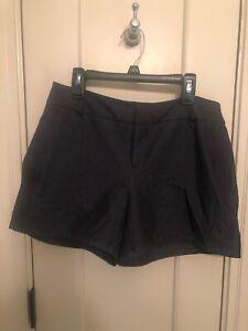 NWT New Navy Blue ELLE STRETCH Shorts Women's Size 2 $40