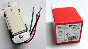 NEW Legrand WATTSTOPPER DRD4-A Wireless Universal Dimmer, LIGHT ALMOND (On-Q)