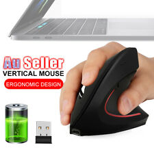USB Wireless Mouse Vertical Ergonomic Working Charging Optical