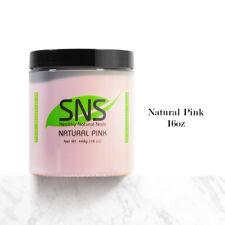 SNS Nail Dipping Powder No Liquid,No Primer,No UV Light 16oz - Natural Pink