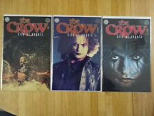 RARE COMPLETE SET OF THE CROW: CITY OF ANGELS COMIC BOOKS!
