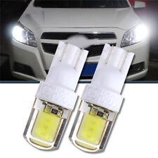 2 x T10 W5W COB LED Auto Car Super Bright Silica License Plate Light Bulb White
