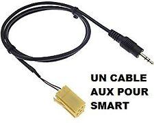 Auxiliaire smart autoradio double din smart 451 aux autoradio smart 451 fortwo 2