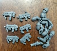 40K Old Chaos Space Marines Holstered Pistol /& Pouch Bits 10 Bitz OOP