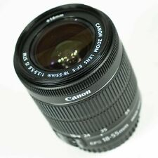 Objetivo Canon EF-S 18-55mm F3.5-5.6 IS STM Lens, problem zoom and error