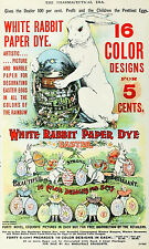 1920 Easter Egg Dye Advertising Poster 12 x 19 Giclee Print
