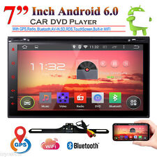 """7""""Android6.0 Double 2DIN In dash Car stereo Radio DVD Player GPS Navigation WiFi"""