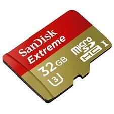 Sandisk 32G Micro Extreme U2 4K video best HD SD card for Nikon J5 J4 mirrorless