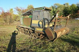 GYRO TRAC GT18 Skid Steer Forestry Mulcher Tractor 1770 Hours