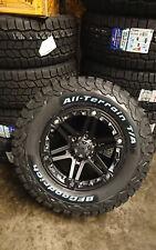 Tuff T01 8x17 6x139,7 Llantas + Neumáticos Bf Goodrich Ko2 265/70/17 para Ford