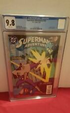 Superman Adventures #23 CGC 9.8 (DC, 1998) Early appearance Livewire