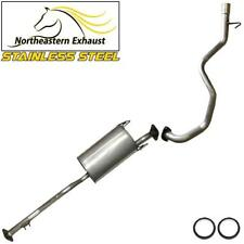 Stainless Steel Exhaust System Kit fits: Toyota 4 Runner 3.4L V6  1996 - 2000