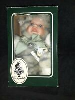 "MIB Geppeddo Cuddle Kids ""Cody Kitten"" NWT - 2001 Porcelain Face Plush Baby Cat"