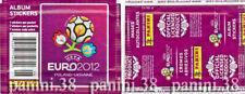 "RARE !! Pochette USA Edition ""UEFA EURO 2012"" bustina, packet, tüte PANINI"