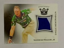 Sage 2018 Sports Kings 2 Color Shirt Swatch Walter Ray Williams Jr Bowler.SM-WRW