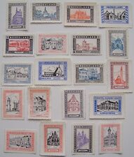 Netherlands - 20 different stamps of Cities and towns in the Netherlands (3)