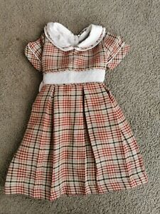 Baby Girls Smocked Dress Age 12 Months