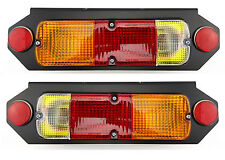 NEW UNIVERSAL TAIL LIGHT for UTE PICKUP TRAY CUSTOM TABLETOP PAIR WITH BRACKETS