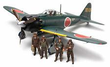 Tamiya 61103 1/48 Model Kit WWII Mitsubishi A6M5/5a Zero Fighter(Zeke) w/Figures
