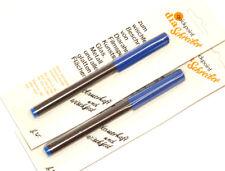 2x Quickpoint Dia-Stift in blau wischfest zur Beschriftung von CDR DVD (NEU/OVP)