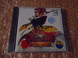 SAMURAI 4   SNK NEOGEO CD JAPONES
