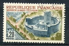 STAMP / TIMBRE FRANCE OBLITERE N° 1402 TELEVISION A PARIS