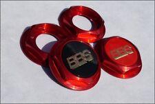 BBS RC RF Sechskant Deckel RS Rote Muttern 6-kant Nabendeckel RS II VW Bmw Audi