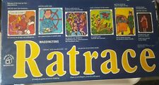 RATRACE BY WADDINGTONS VERY RARE VINTAGE RETRO BOARD GAME 1973 100% COMPLETE VGC