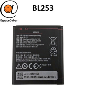 Battery BL253 For Lenovo Motorcycle B A1000 A1010 A20 A2010 A2580 A2860 - 2000