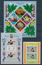 XC47363 Anguilla christmas royal wedding sheets XXL MNH