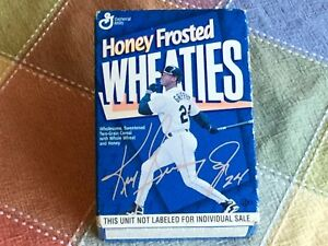 Ken Griffey Jr Mini Honey Frosted Wheaties Cereal Box Collector's Edition Full