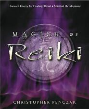 Magic of Reiki Book ~ Energy Healing Wiccan Pagan Metaphysical Book Supply