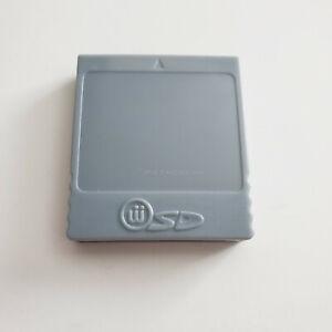 Nintendo Gamecube SD Memory Card Adapter Reader Converter Wii Gecko *NEW*