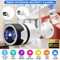 1080P Wireless WiFi IP Camera Security Night Vision Audio CCTV Waterproof