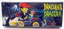 POLAR LIGHTS 1999 UNIVERSAL MONSTERS DRACULA'S DRAGSTER PLASTIC MODEL KIT SEALED