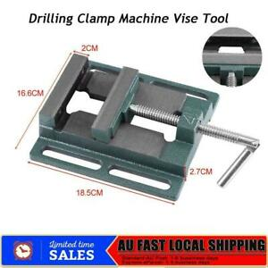 18.5 x 16.6 x 2.7cm  Drilling Clamp Machine Vise Tool Heightened Widened Vise