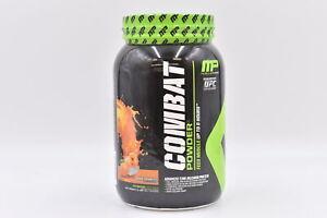 MusclePharm Combat Protein Powder, Orange Creamsicle, 2lb, EXP: 04/2022