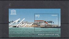 Ghana 2013 MNH UNESCO World Heritage Site III 1v S/S Cape Castle Architecture