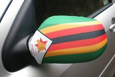 CAR WING MIRROR SOCKS FLAGS, COVERS, FLAG-UPS! - ZIMBABWE