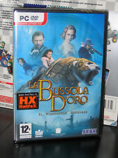 LA BUSSOLA D'ORO PC DVD ROM NUOVO IMBALLATO IN VERSIONE ITALIANO MAI APERTO MINT