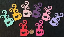 """Hot Coffee/Cocoa Cup Die-Cut (12pc) Aprox.1-1/4 x 2-1/2""""Acid-Free•Good Morning"""