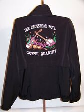 THE CROSSROAD BOYS BLUEGRASS GOSPEL QUARTET EMBROIDERED JACKET! PACIFIC TRAIL-LG