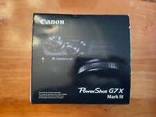 Canon PowerShot G7 X Mark III Digital Camera (Silver) - New