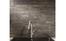 Self Adhesive 6 x 24-Inch Iron Slate Peel And Stick Tiles Stone Backsplash Wall