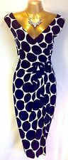 "STUNNING BEAUTIFUL PHASE EIGHT SIZE 16 ""SPOT"" SUMMER DRESS"
