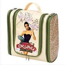 Bolso Neceser de Aseo Baño Mujer Clasico Diseño Vintage Retro OKUNU 510920 7130